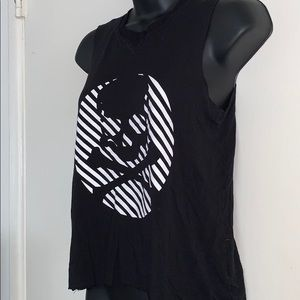 soulcycle Tops - Soulcycle Small/Medium Skull Black Tank
